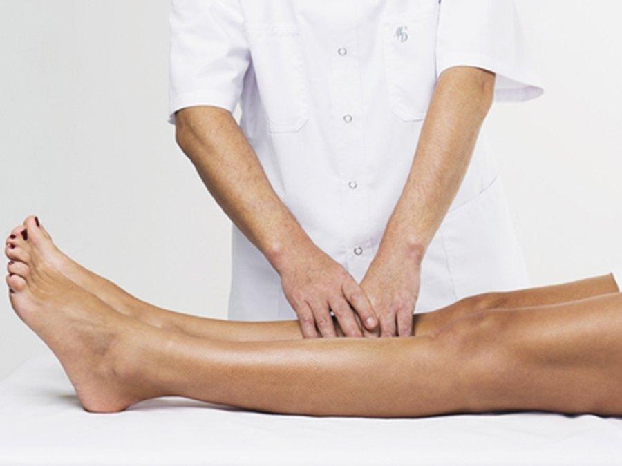 Лечебный медицинский массаж варикоз